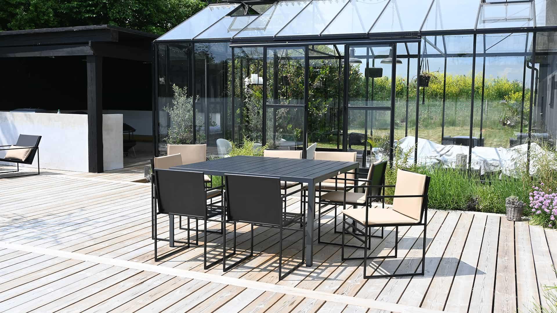 Utendørs stoler - utemøbler - utemøbler - møbler for utendørs bruk