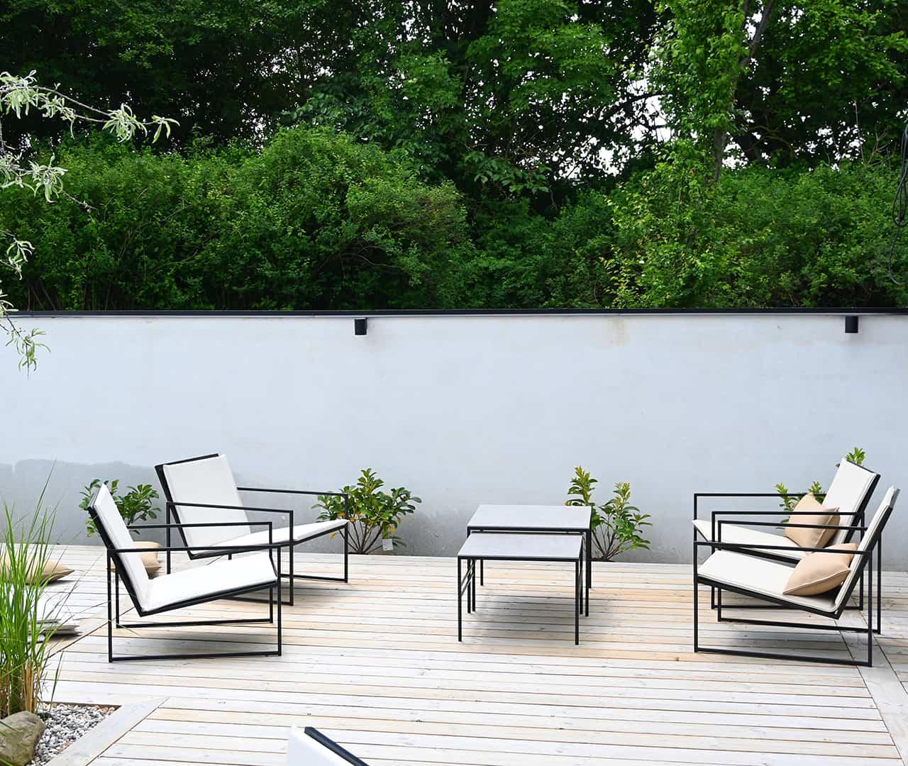 Utomhus kollektion - utemöbler - utestolar - utefåtölj - loungeset utomhus