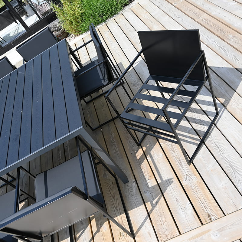 Sella outdoor - matstol - utestol - utomhus - utekollektion - utemöbler