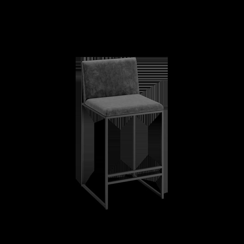 """La chaise de bar """"by Crea®"""" Philip. Fait à la main en différentes hauteurs (66cm, 76cm ou sur mesure) pour s'adapter à votre cuisine, bar ou îlot de cuisine. Un design de chaise de bar classique scandinave moderne et minimaliste. Meubles fabriqués en Suède. Conception de chaise de bar sur mesure."""